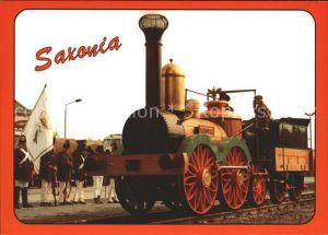 Lokomotive Nachbau Dampflok Saxonia  Kat. Eisenbahn