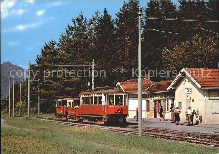 Strassenbahn Bahnhof Igls  Kat. Strassenbahn