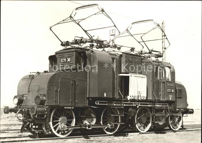 Lokomotive Elektrische Lokomotive Preussische Staatsbahn  Kat. Eisenbahn