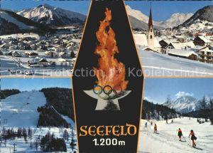 Olympia Winterspiele Seefeld  Kat. Sport