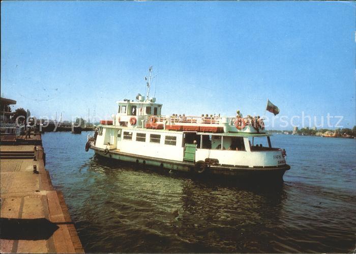 Motorboote Swinoujscie Tramwaj wodny Fafik Kat. Schiffe