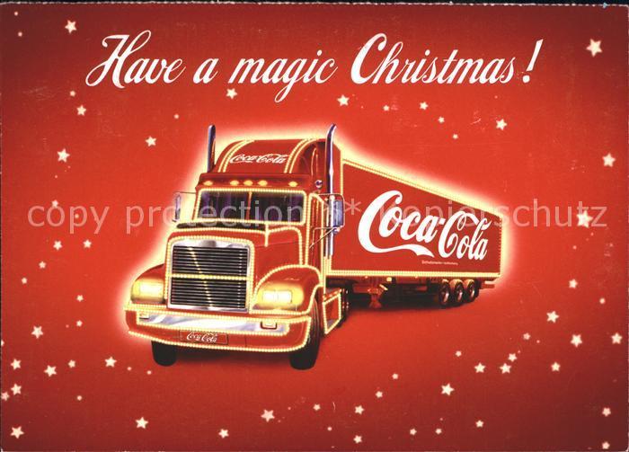 Coca Cola Werbung Weihnachten.Getraenke Coca Cola Truck Weihnachten Werbung Kat Lebensmittel