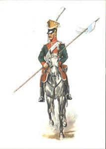 Regimente Ulanen Regiment Bayern um 1815 Kat. Regimente