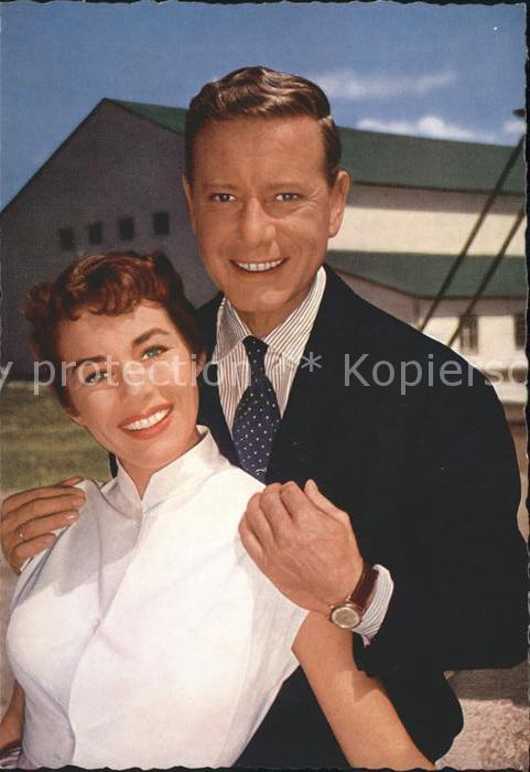 Schauspieler Marianne Koch Dieter Borsche  Kat. Kino und Film