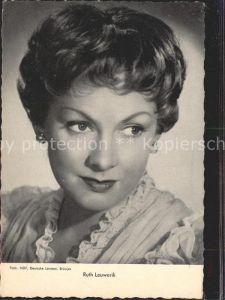 Schauspieler Ruth Leuwerik  Kat. Kino und Film