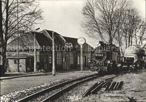 Lokomotive Schmalspurbahn Freital Hainsberg Kipsdorf Bahnhof Malter  Kat. Eisenbahn