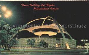 Flughafen Airport Aeroporto Theme Building Los Angeles International Airport Kat. Flug