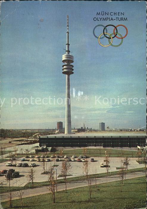 Olympia Muenchen Oberwiesenfeld Olympia Turm  Kat. Sport