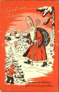 Nikolaus Weihnachtsmann Kinder