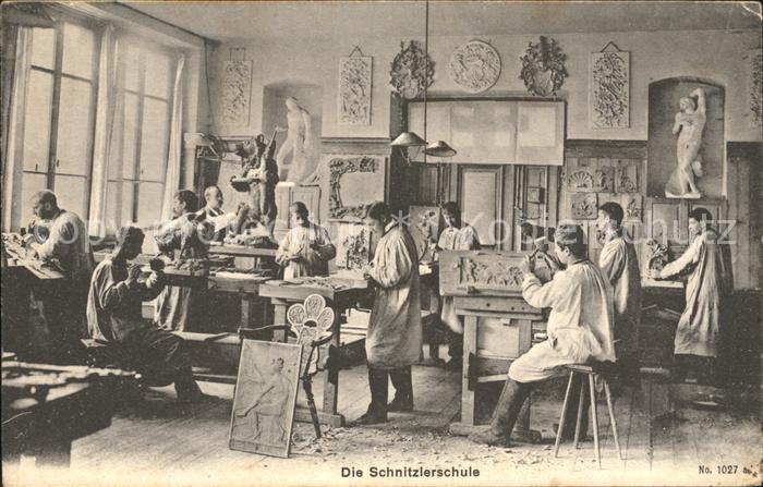 Handwerk Schnitzlerschule  Kat. Handwerk