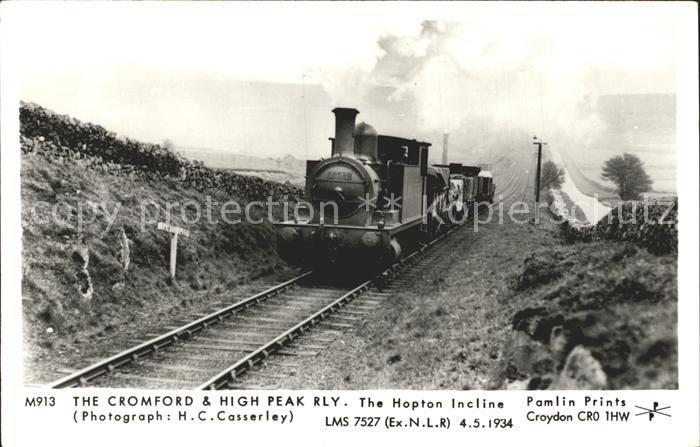 Lokomotive Cromford and High Peak RLY Hopton Incline Kat. Eisenbahn