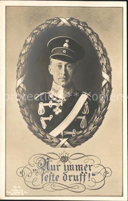 Adel Preussen Wilhelm von Preussen  Kat. Koenigshaeuser