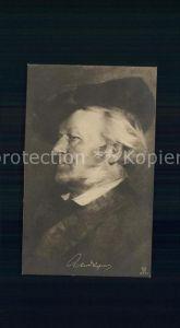 Wagner Richard Komponist  Kat. Musik