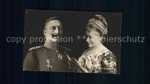 Wilhelm II Kaiserin Auguste Viktoria Kat. Persoenlichkeiten