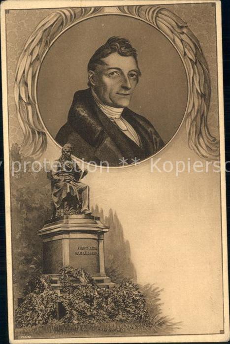 Gabelsberger Franz Xaver Denkmal  Kat. Persoenlichkeiten