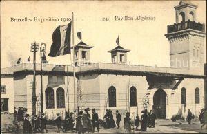 Exposition Universelle Bruxelles 1910 Pavillon Algerien Kat. Expositions
