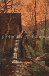 Hasemann W. Muehle im Schwarzwald Kat. Schwarzwaldkuenstler
