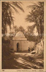 Typen Arabien Marabout dans l oasis