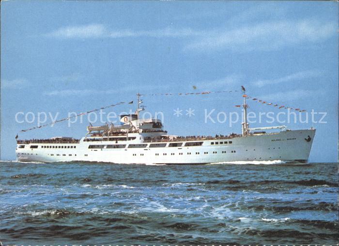 Schiffe MS Roland von Bremen  Kat. Schiffe