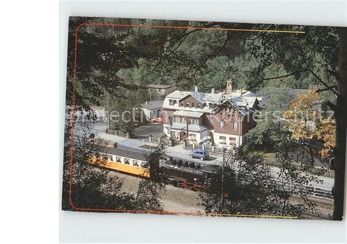 Lokomotive Schmalspurstrecke Freital Hainsberg Kipsdorf  Kat. Eisenbahn