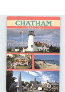 Leuchtturm Lighthouse Chatham Cape Cod Massachusetts Kat. Gebaeude