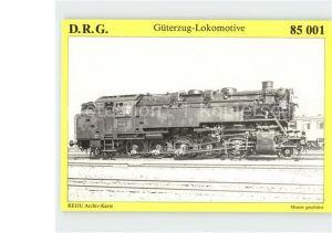 Lokomotive Gueterzug Tenderlokomotive 85 001  Kat. Eisenbahn