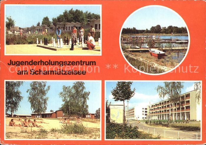 Schach Jugenderholungszentrum Scharmuetzelsee  Kat. Spiel