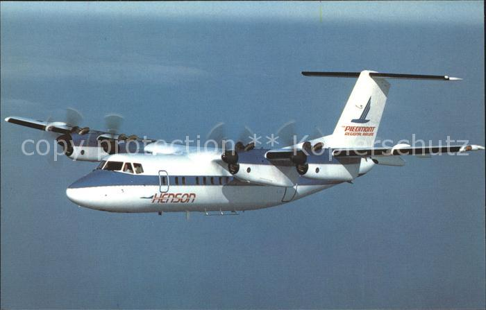 Flugzeuge Zivil Henson Airlines Piedmont Regional Airline DeHavilland Canada Dash  7 Kat. Airplanes Avions