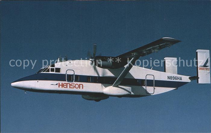Flugzeuge Zivil Henson Airlines Short SD3 30 N896HA Kat. Airplanes Avions