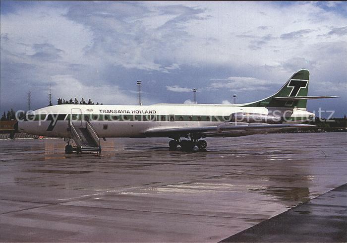 Flugzeuge Zivil Transavia Holland Sud Aviation Caravelle III PH TVX  Kat. Airplanes Avions