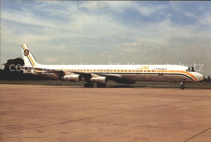 Flugzeuge Zivil Canafrica Transportes Aereos EC DZA DC 8 61 C N 46032 Kat. Airplanes Avions