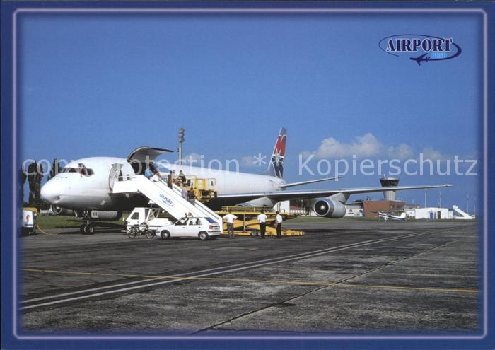 Flugzeuge Zivil MK Airlines McDonnell Douglas DC 8 62F Airport Brno Kat. Airplanes Avions