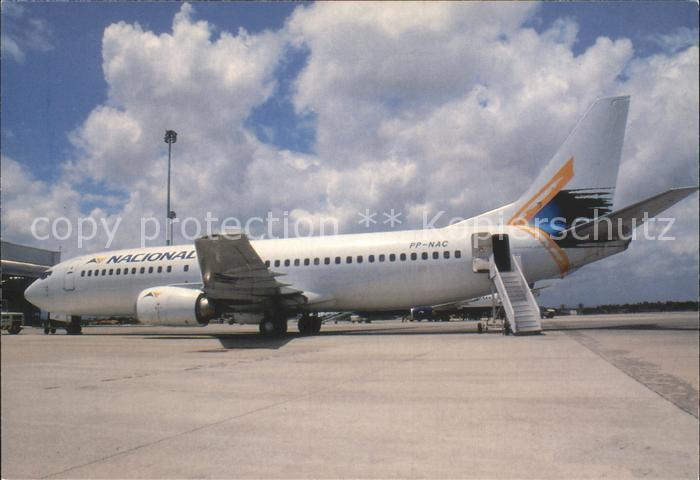 Flugzeuge Zivil Nacional Transportes Aereos Boeing 737 4YO PP NAC  Kat. Airplanes Avions