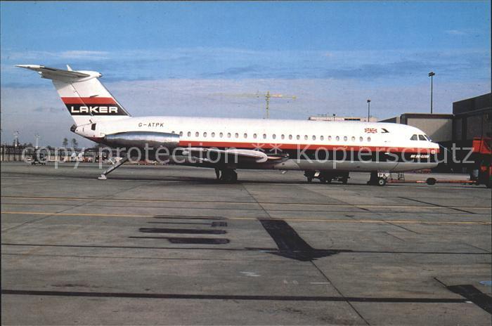 Flugzeuge Zivil Laker Airways BAC 1 11 301 AG G ATPK C n 34 Kat. Airplanes Avions