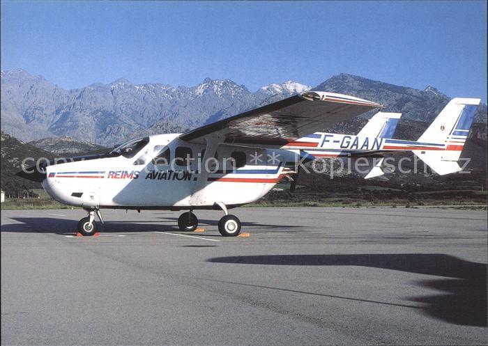 Flugzeuge Zivil Reims Aviation Cessna FT337GP Super Skymaster F GAAN c n  229 Kat  Airplanes Avions