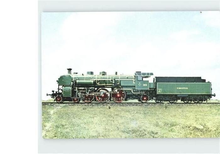 Lokomotive Baureihe 18 Schnellzuglokomotive S 3 6 Bayerische Staatsbahn Kat. Eisenbahn