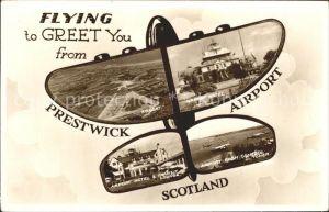 Flughafen Airport Aeroporto Prestwick Airport Scotland Hotel Transit Lounge  Kat. Flug