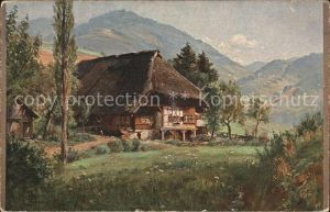 Hasemann W. Schwarzwald Bauernhaus  Kat. Schwarzwaldkuenstler