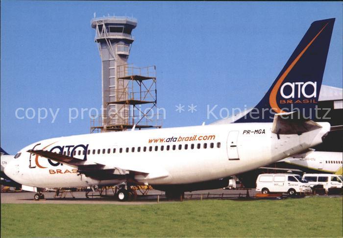 Flugzeuge Zivil ATA Brasil Boeing 737 204C 20282 PR MGA  Kat. Airplanes Avions
