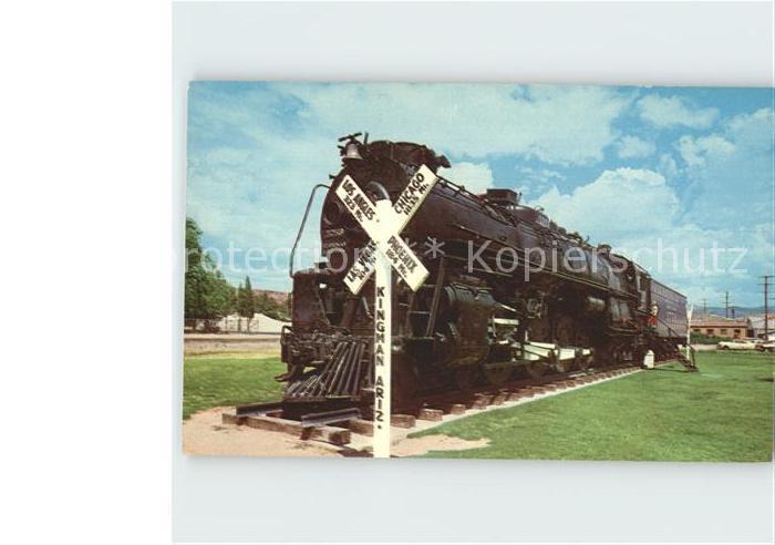 Lokomotive Engine No  3759 Kingman Arizona  Kat. Eisenbahn