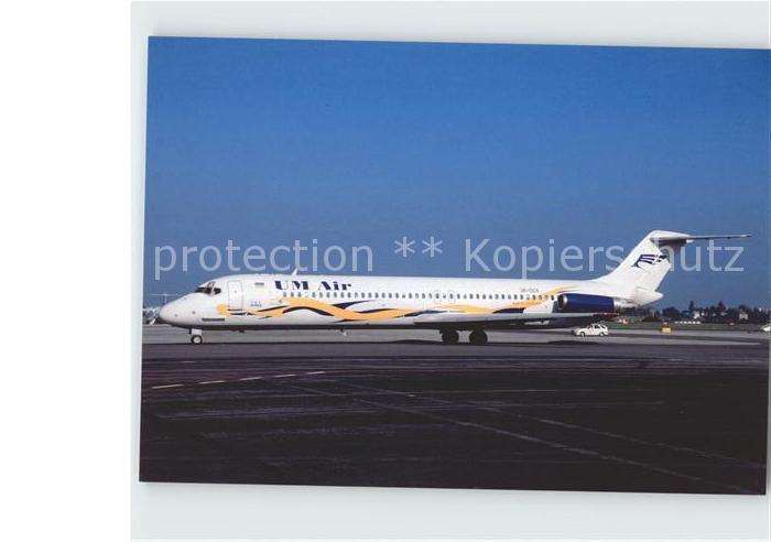 Flugzeuge Zivil UM Air DC 9 51 UR CCS c n 47737 Kat. Airplanes Avions