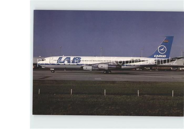 Flugzeuge Zivil LAB Lloyd Aereo Boliviano B707 323C 19586 CP 1698 Kat. Airplanes Avions