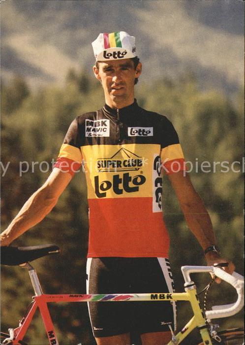 Radsport Radrennfahrer Claude Criquielion Kat. Sport