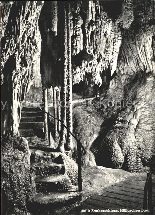 Hoehlen Caves Grottes Zauberschloss Hoellgrotten Baar Kat. Berge