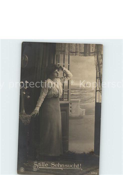 Foto NPG Nr. 505 2 Stille Sehnsucht  Kat. Neue Photographische Gesellschaft