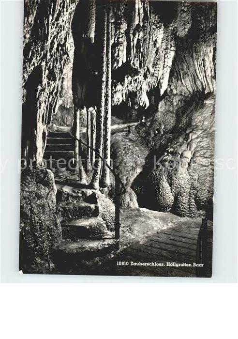 Hoehlen Caves Grottes Hoellgrotten Baar Zauberschloss Kat. Berge