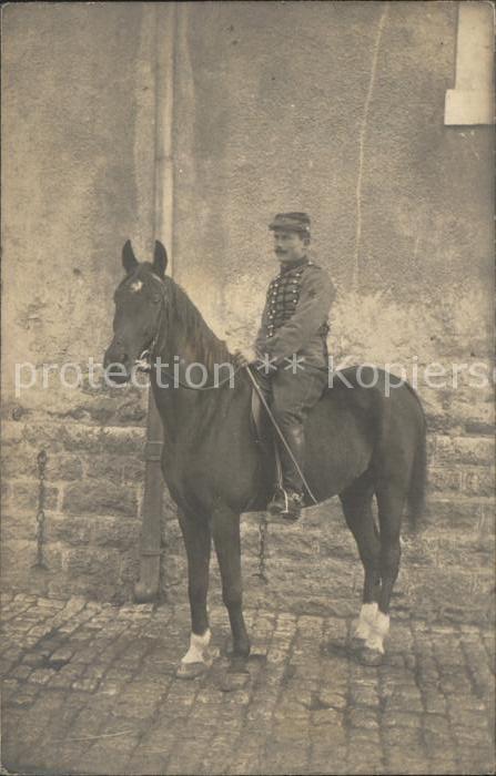 Militaria Frankreich regiment 14  cheval WK 1 militaria / Militaria /