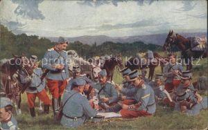 Militaria Kartenspiel im Feld gruppenfoto kartenspiel / Militaria /