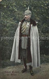 Wilhelm II Unser Kaiser im Felde / Persoenlichkeiten /