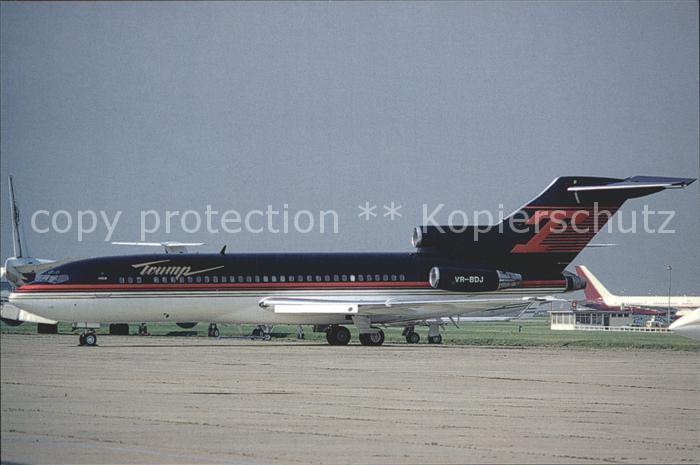 Flugzeuge zivil Trump Shuttle B.727.23 VR.BDJ C N 20043 Juin 96 LeBourget Kat. Airplanes Avions
